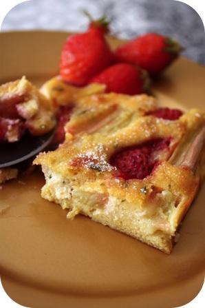 tarte-rhubarbe-fraise-sans-pate